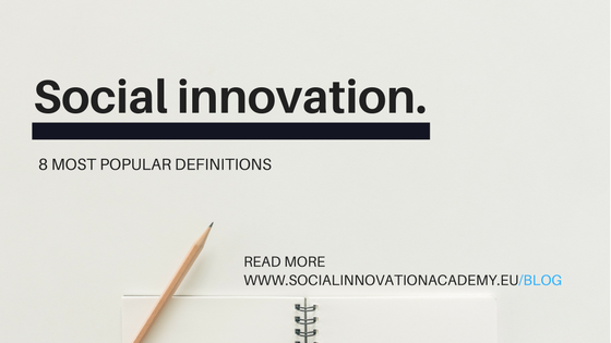 8 popular social innovation definitions