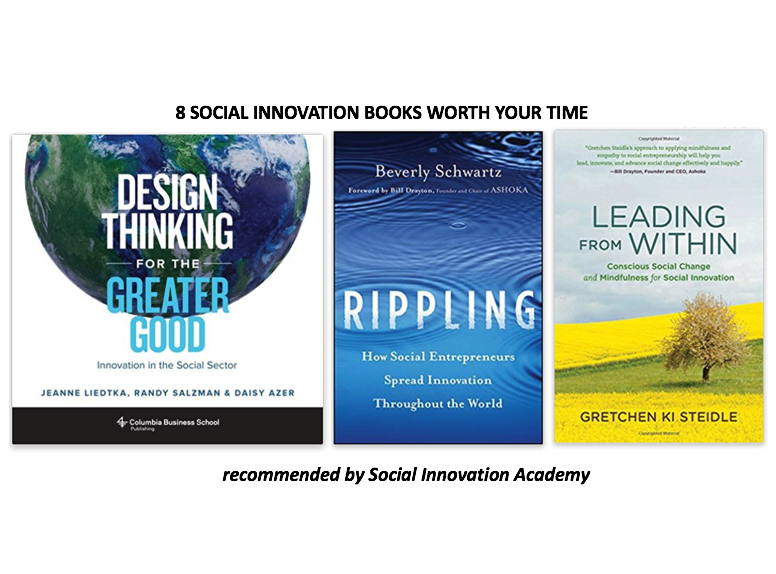 8 social innovation books worth your time