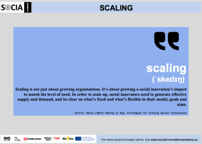 Scaling definition
