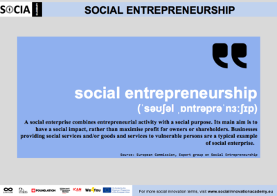 Social entrepreneurship definition