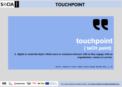 Touchpoint definition