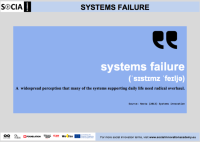 Systems failure definition