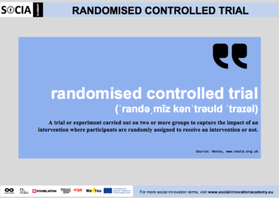 Randomised controlled trial definition