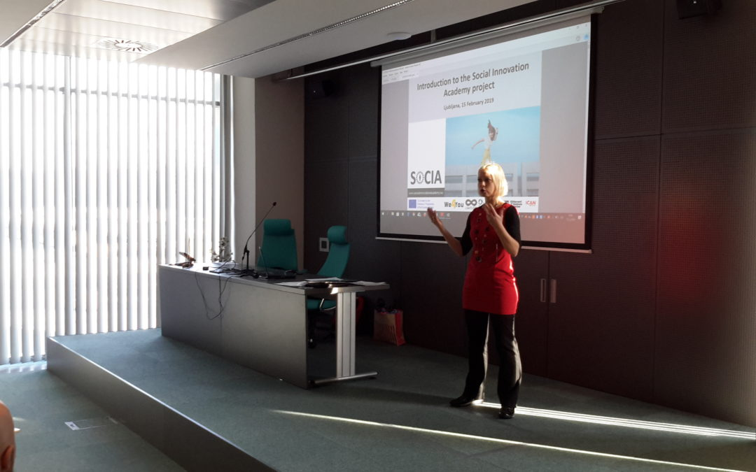 Social Innovation Academy event in Slovenia attracted inspiring speakers