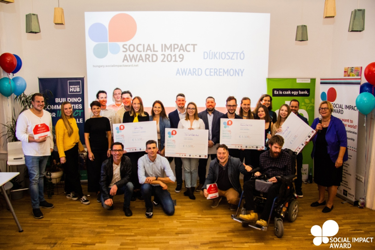 8 FINALISTS OF SOCIAL IMPACT AWARD HUNGARY 2019