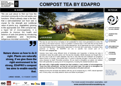 COMPOST TEA BY EDAPRO