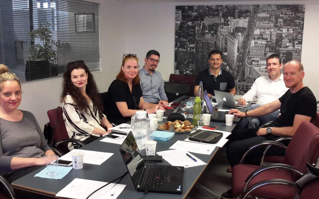 SOCIA progress update meeting in Athens