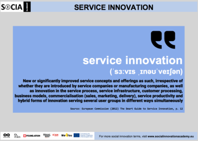 Service innovation definition