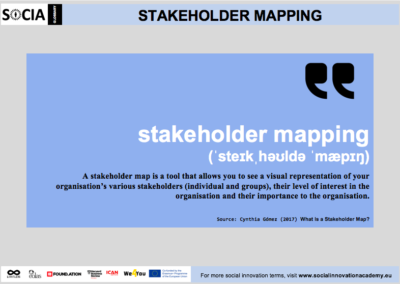 Stakeholder mapping definition