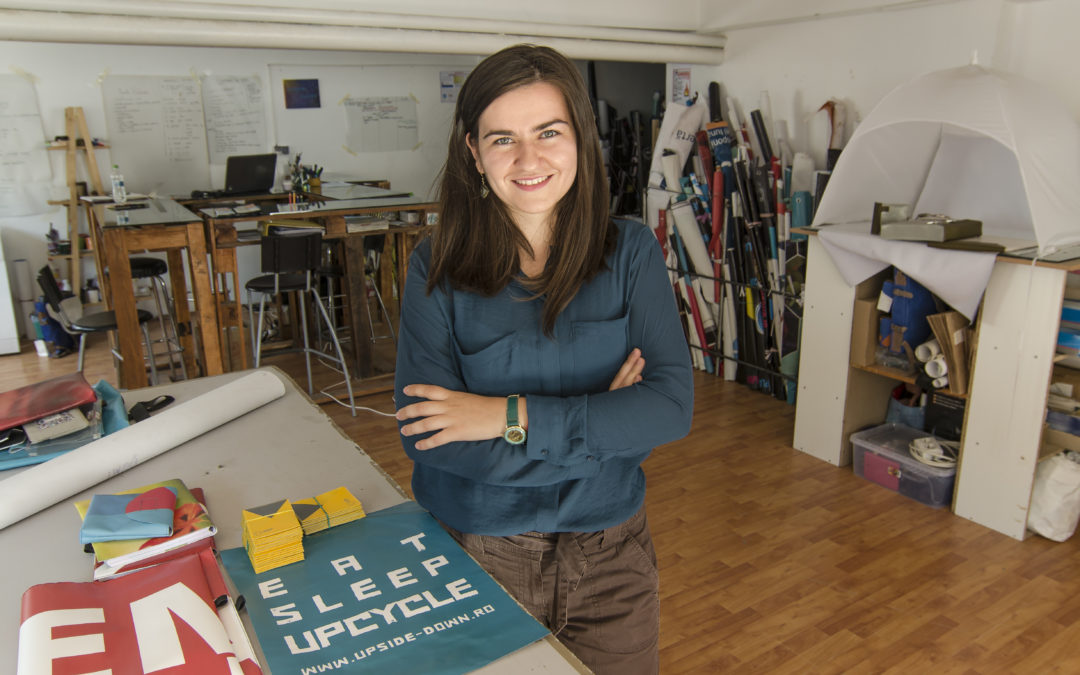 How to create eco-friendly accessories to solve environmental problems and encourage the idea of responsible shopping: insights from Upside Down's founder
