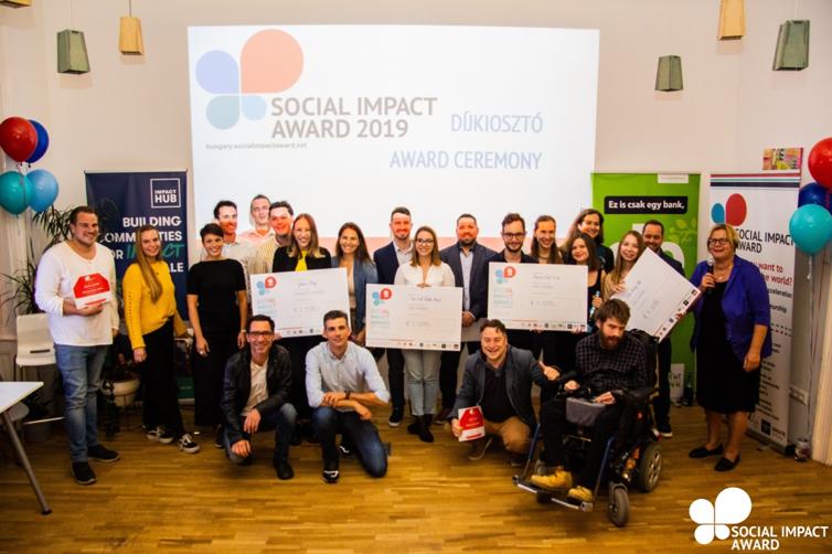 8 FINALISTS OF SOCIAL IMPACT AWARD HUNGARY 2019
